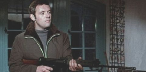 Anthony Hopkins as action hero